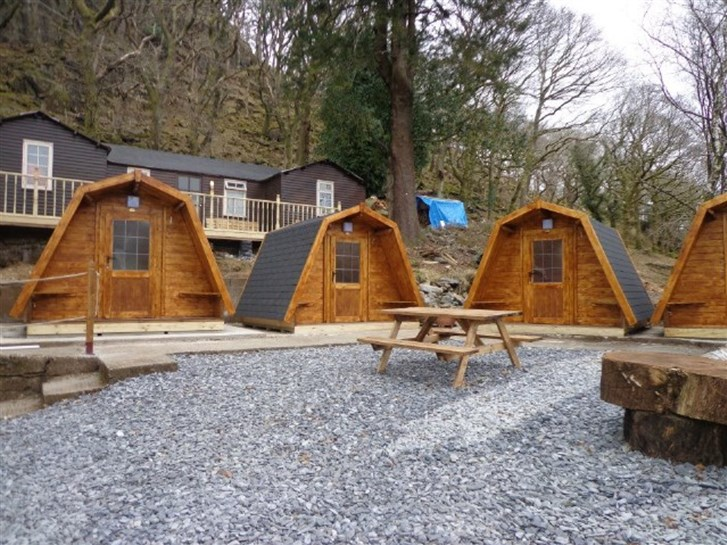 Bryn Dinas Camping Pods - Camping Pods