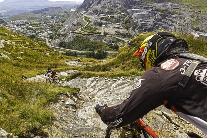 Antur Stiniog - some of the UK's best downhill mountain bike trails