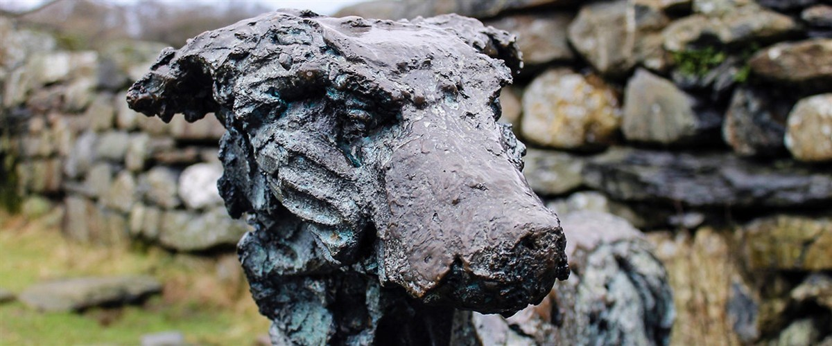 Beddgelert, the legend of Gelert